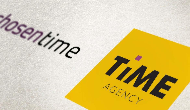 Time Agency - realizzazione logo