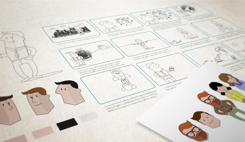 Time Agency - realizzazioni storyboard pubblicitari