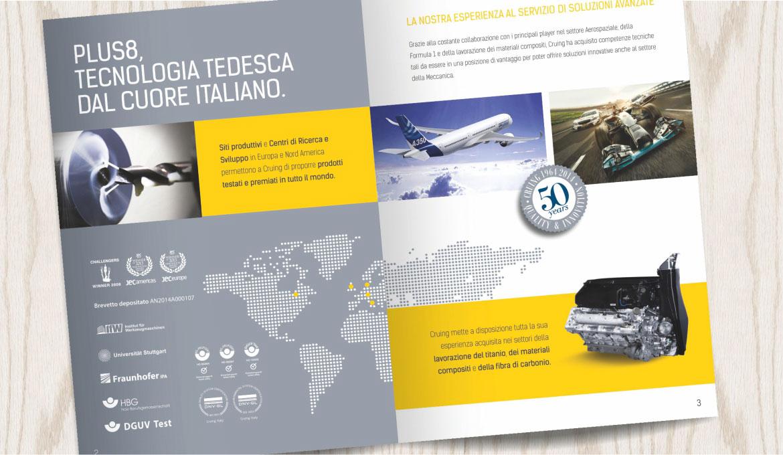 Time Agency - realizzazione brochure