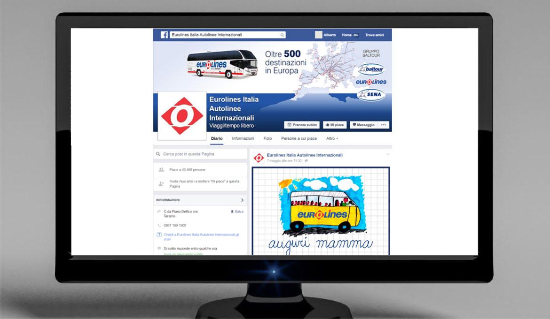 gestione attività sui social network