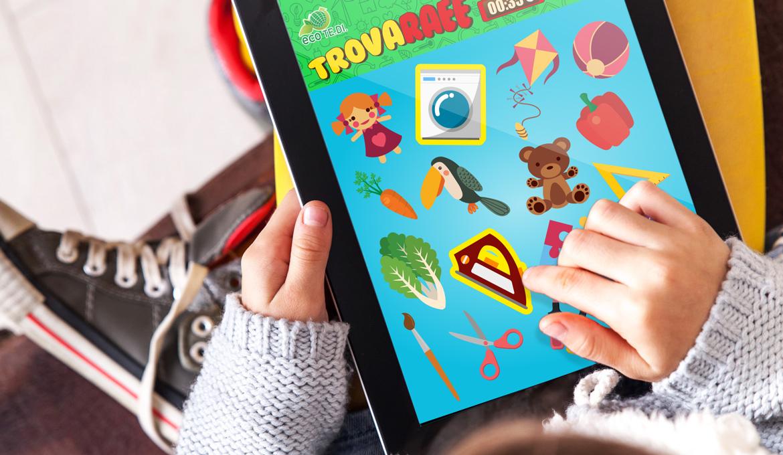 TrovaRAEE Time Agency - realizzazione app giochi