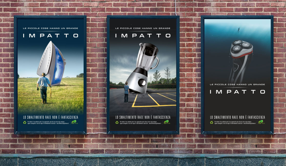 Campagna Impatto RAEE - TiME Agency